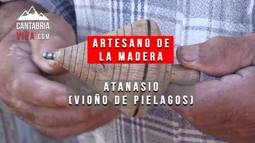 artesano madera vioño