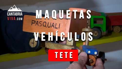 maquetas vehiculos artesano